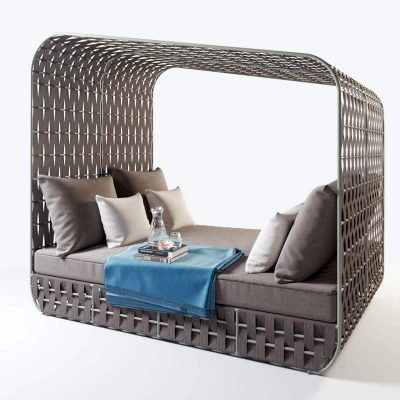 Strips Daybed By Skyline Design 3D model