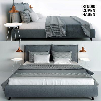Studio Copen Hagen Versa I Bed 3D Model