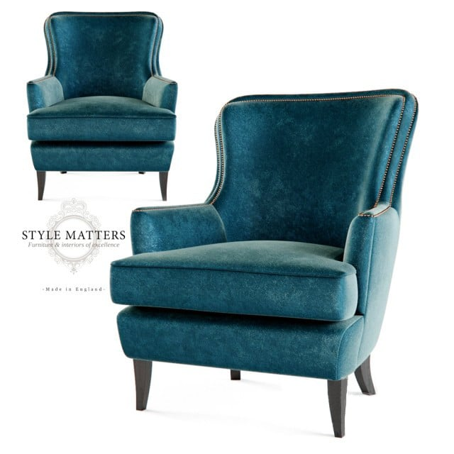 Style Matters FH 106 Armchair 3D Model