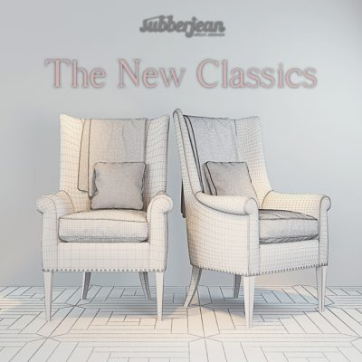 SubberJean The New Classics Armchair 3D Model