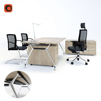 Summa M Office Furniture 3D Model