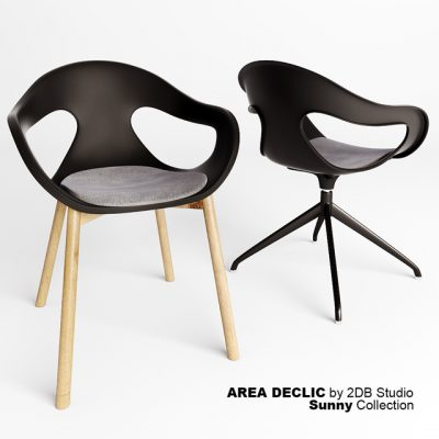 Sunny Collection – Area Declic Chair 3D Model