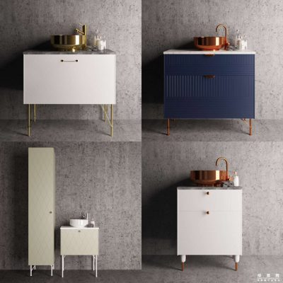 Superfront bathroom Sideboard 3D Model
