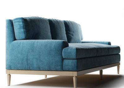 Sutton Sofa 3D Model 2