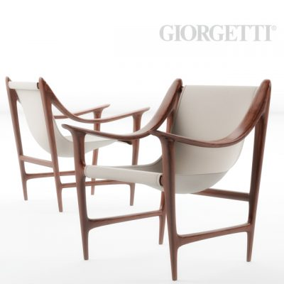 Giorgetti Swing Armchair 3D Model
