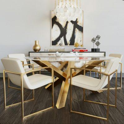 Table & Chair Set-77 3D Model
