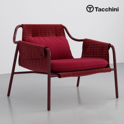 Tacchini Jacket Armchair 3D Model