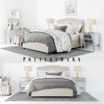 Tamsen Bed 3D Model