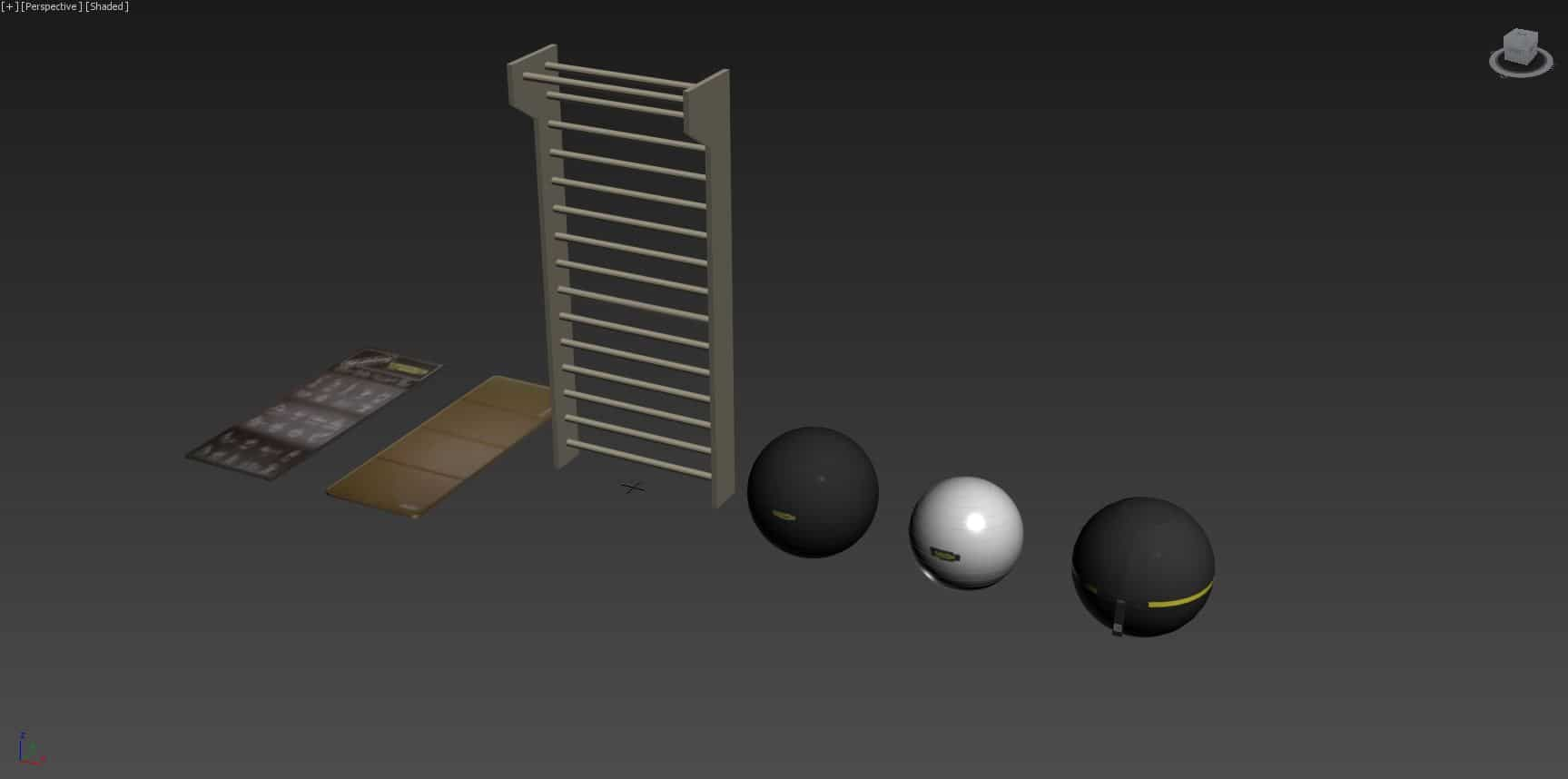 Technogym Wellness Ball ACTIVE 3D Model for Download (1)
