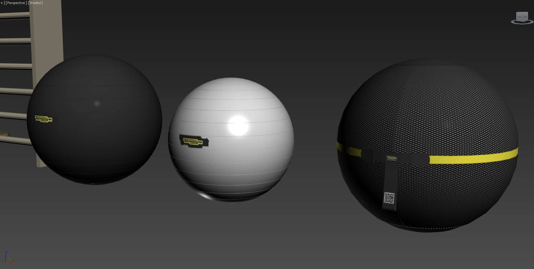 Technogym Wellness Ball ACTIVE 3D Model for Download (3)