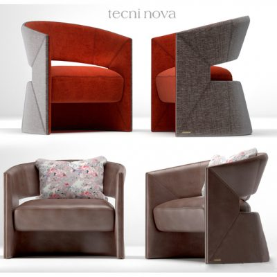 Tecni Nova Armchair 3D Model