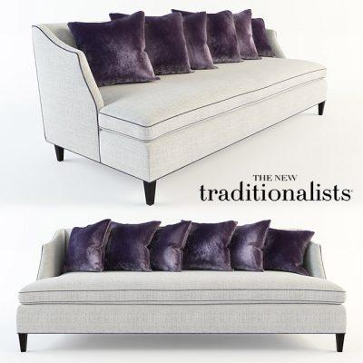 The New Traditionalists Vol.244 Sofa 3D Model