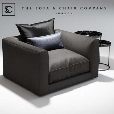 The Sofa & Chair Company Elis Armchair 3D Model