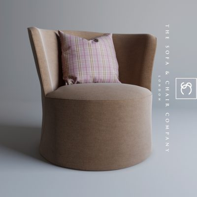 The Sofa & Chair Company Oliver Armchair 3D Model