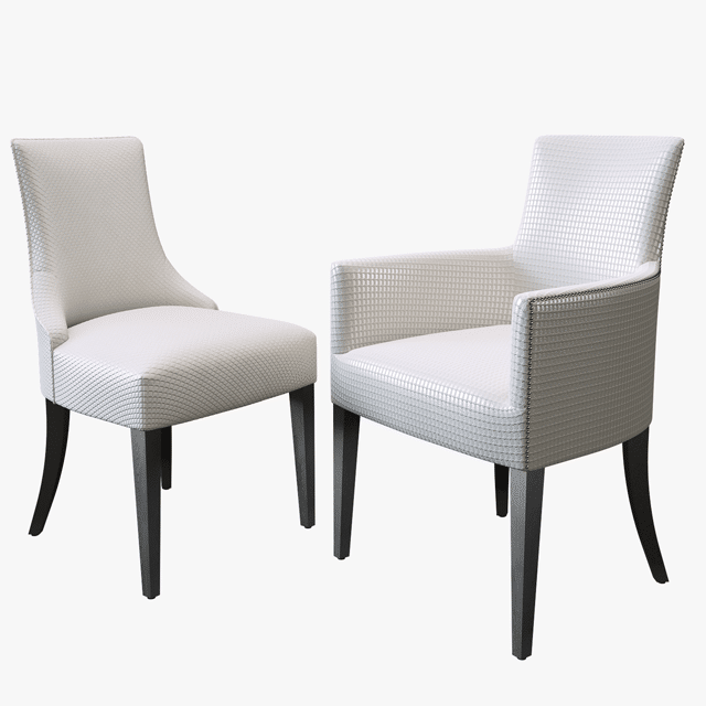 The Sofa&Chair Company Charles Carver Chair 3D Model