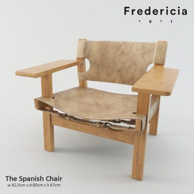 The Spanish Chair 3D Model