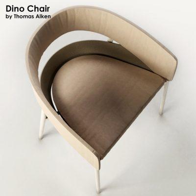 Thomas Alken Dino Chair 3D Model