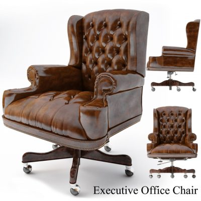 Thomasville Executive Office Chair 3D Model