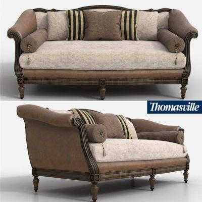 Thomasville Sorrento Sofa 3D Model