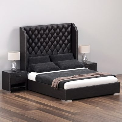Tiffany Bed 3D Model