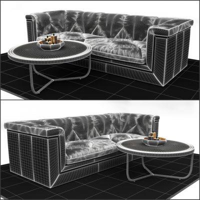 Timothy Oulton Sofa 3D Model