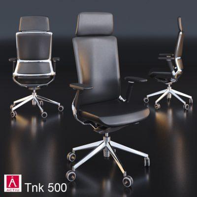 Tink 500 Office Armchair 3D Model