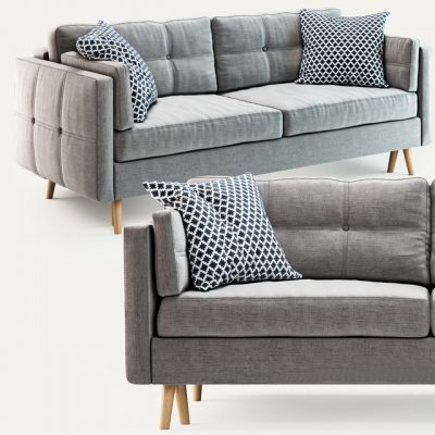 Tivoli Modern Sofa 3D Model