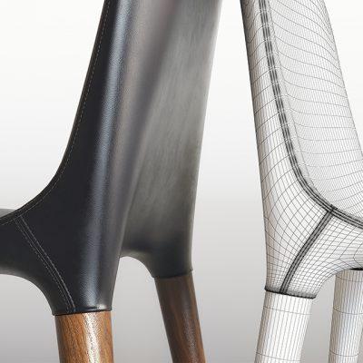 Tonon Tako Chair 3D Model