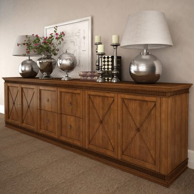 Tosatto Sideboard 3D Model 2