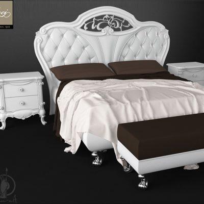 TreCi Glamour Bed 3D Model