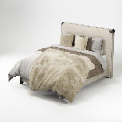 Treca Interiors Fur & Bed Clothing 3D Model