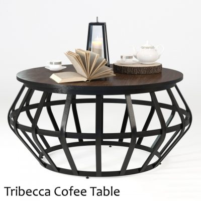 Tribecca Cofee Table 3D Model