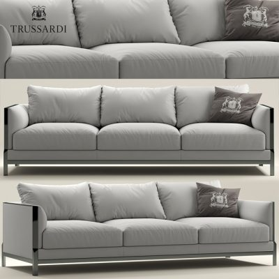 Trussardi Casa Band Sofa 3D Model