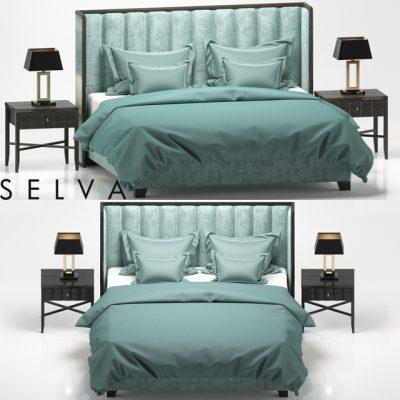 Trust Selva Bed 3D Model