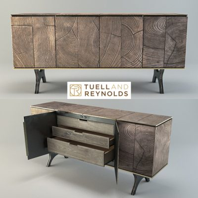 Tuell And Reynolds Sideboard 3D Model