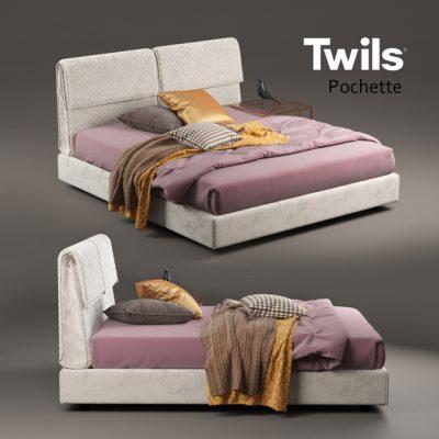 Twils Pochette Bed 3D Model