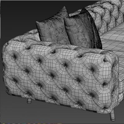 Ulivi Salotti Daniel Sofa 3D Model