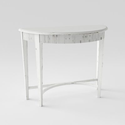 Uttermost Parisio Demilune Console Table 3D Model