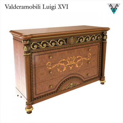 Valderamobili Luigi XVI Dresser 3D Model