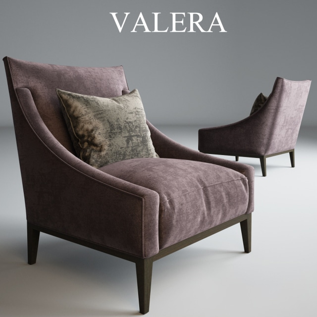 Valera Occasional Chair 3D Model