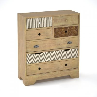 Valgautr Scandinavian Style Chest Of Drawers 3D Model