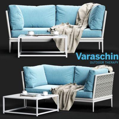 Varaschin Algarve 04 Sofa 3D Model