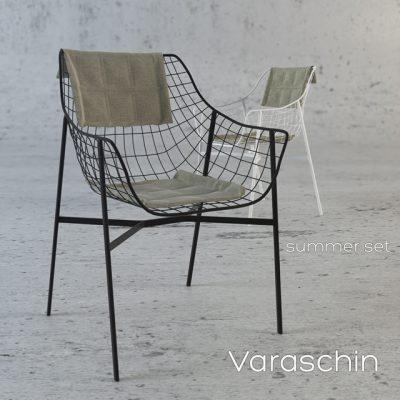 Varaschin Summer Set Chair 3D Model