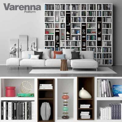 Varenna Poliform DAY SYSTEM 26 Cabinet 3D model