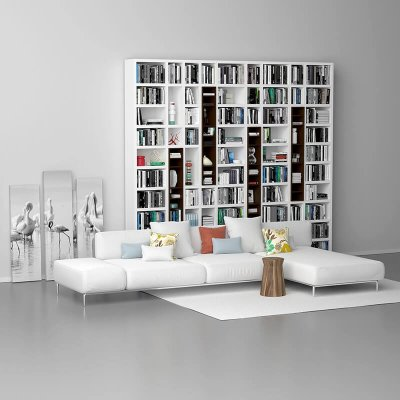 Varenna Poliform DAY SYSTEM 26 Cabinet 3D model 2