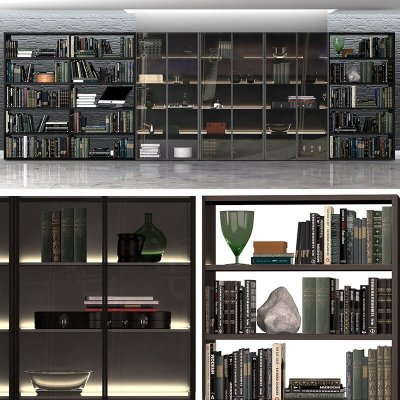 Varenna Poliform DAY SYSTEM 8 Cabinet 3D Model