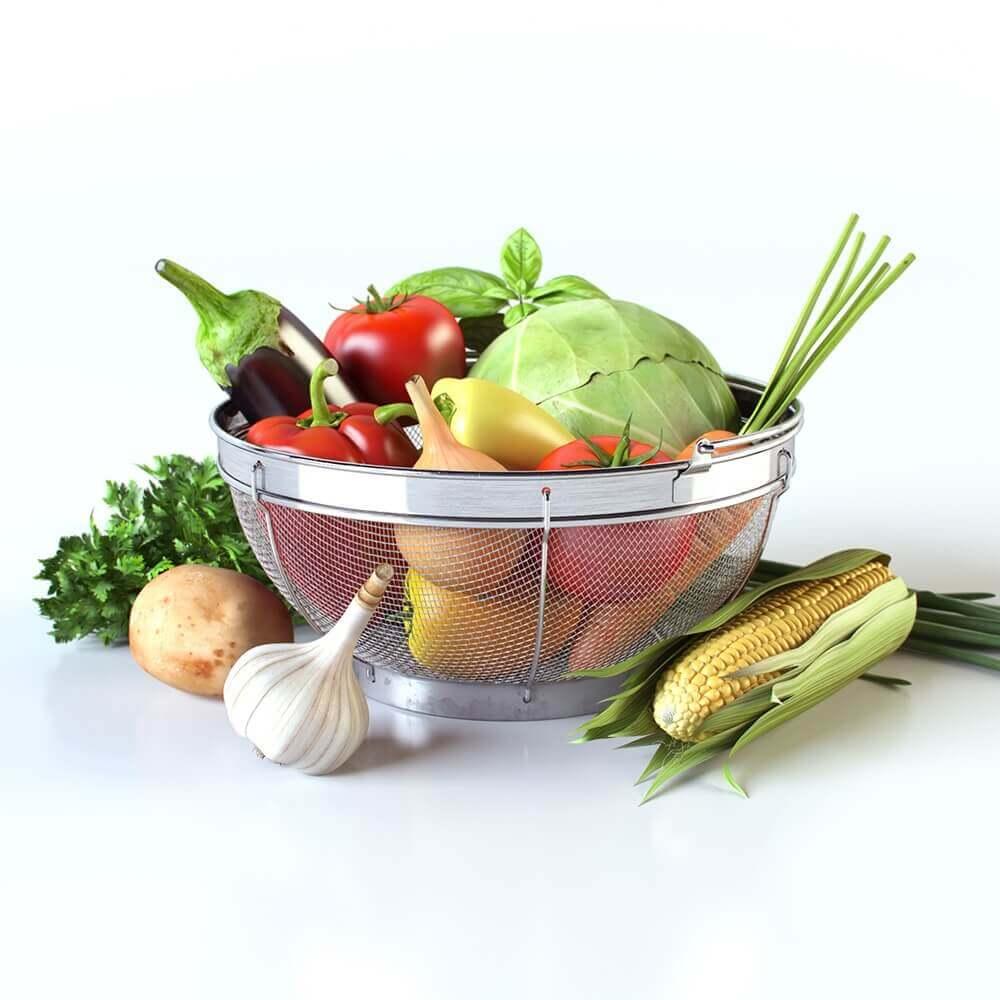 Vegetables 3D model (1)