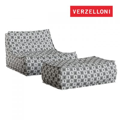 Verzelloni Zoe Large Armchair 3D Model