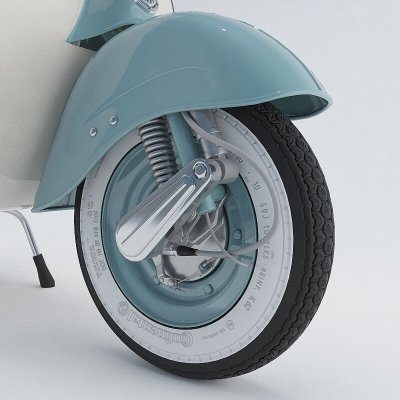 Vespa VNB 125 Tire 3D model