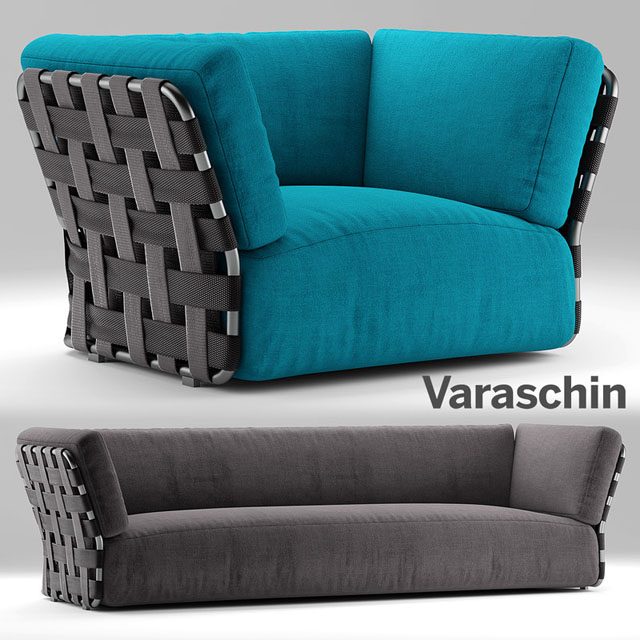 Viraschin Obi Sofa 3D Model